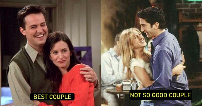 monica and chandler are the best couple, even better than ross and rachel