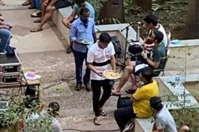 mumbai terrace party amid lockdown
