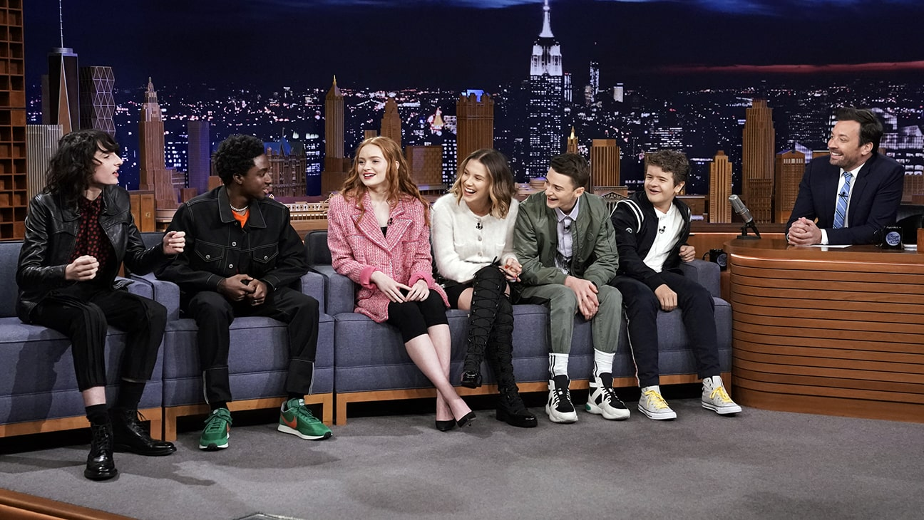 interview of the cast from stranger things