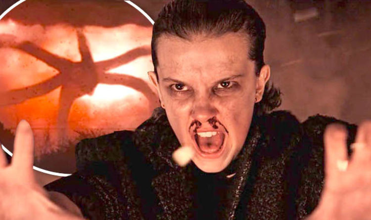 eleven screaming while using her powers