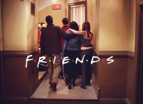 friends last scene from the series