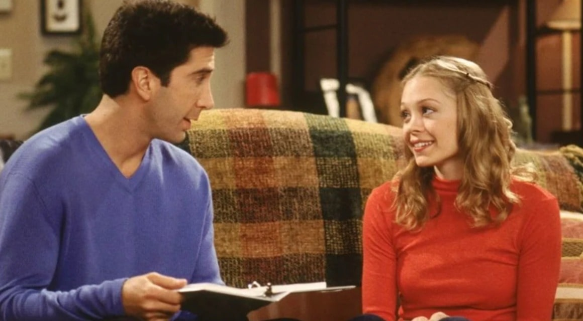 ross and emily from friends