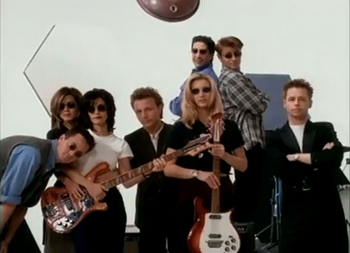 recording the pop version of friends theme song: i'll be there for you