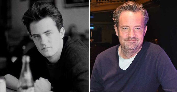 story of matthew perry or chandler bing that people don't know