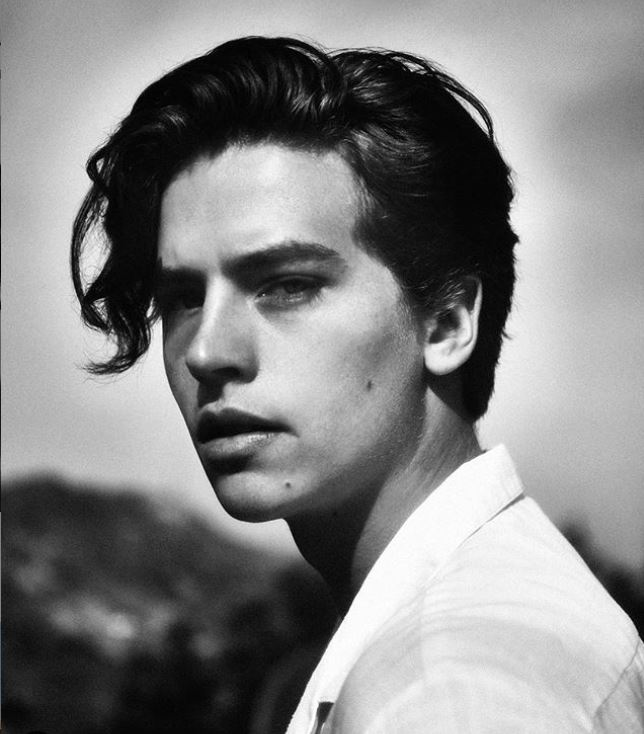pic from 2020 of cole sprouse