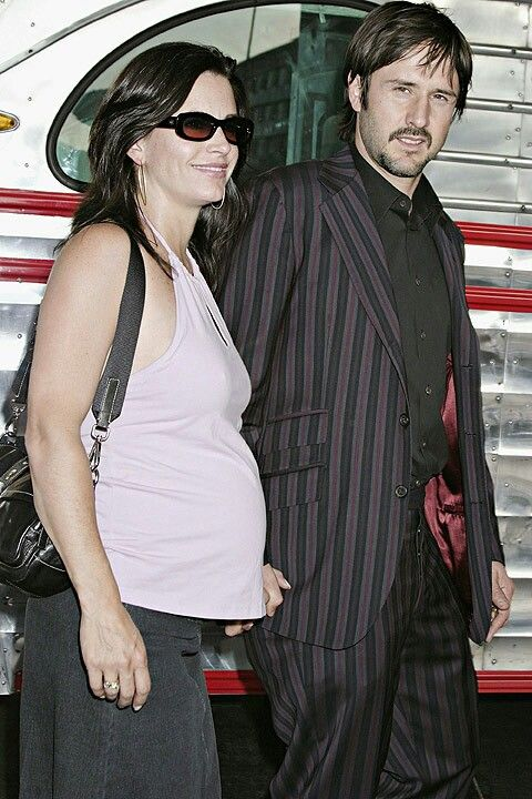 courteney cox pregnant with husband david