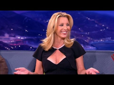 lisa kudrow in an interview cond=fessing about phoebe