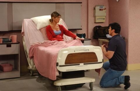 rachel saying yes to joey while she assumed he proposed