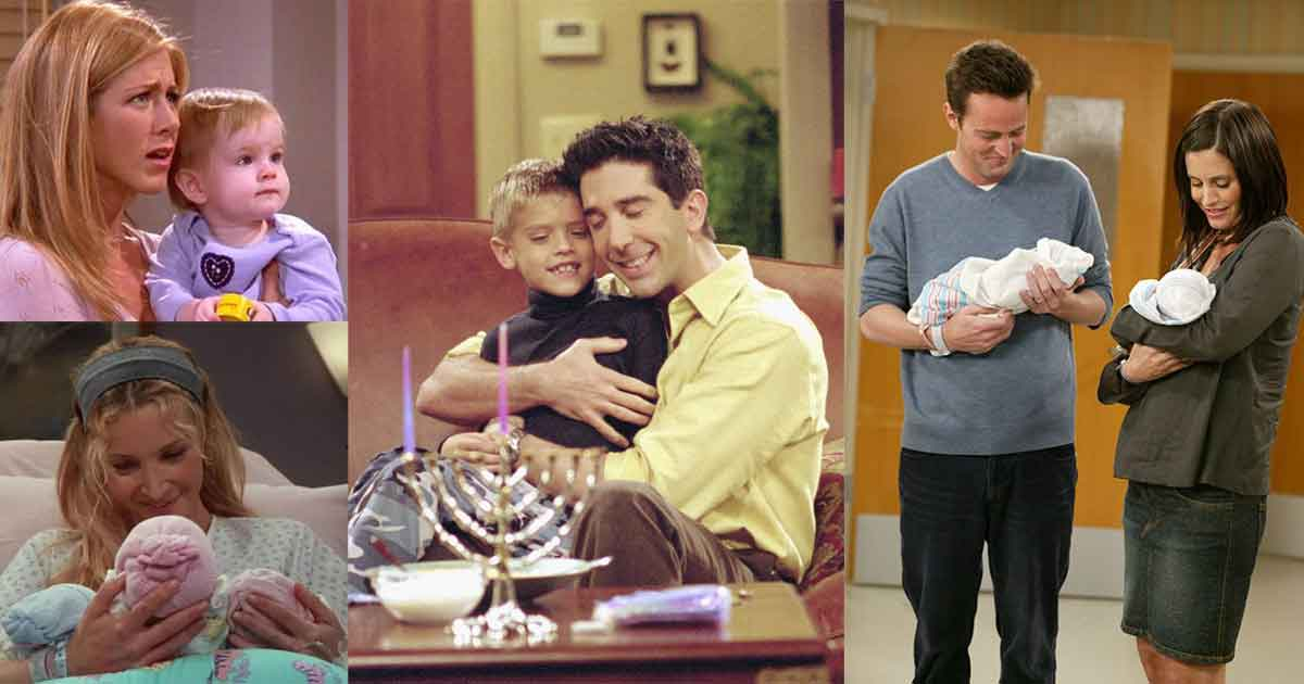 all the kids of friends series have grown up now