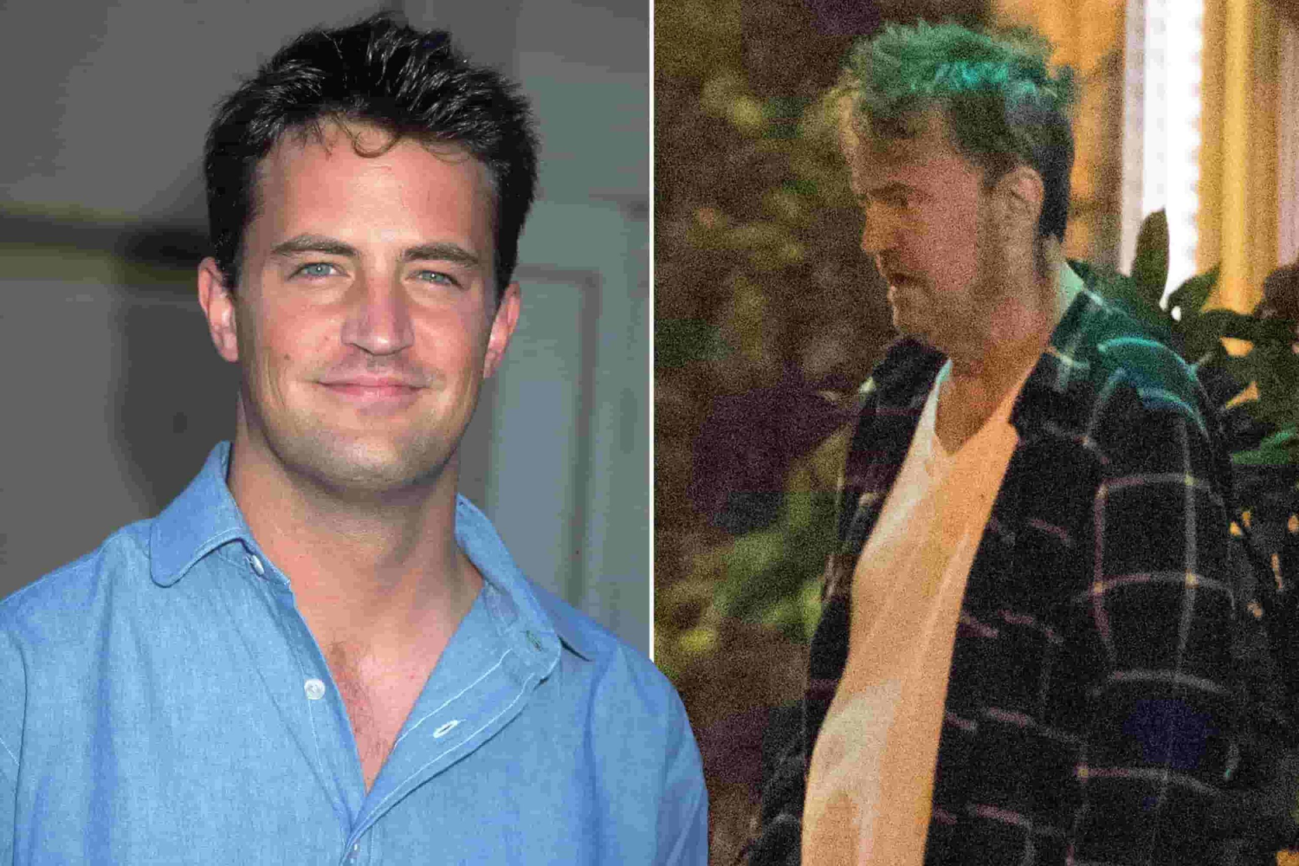 matthew perry looks old and devastated because of his addiction