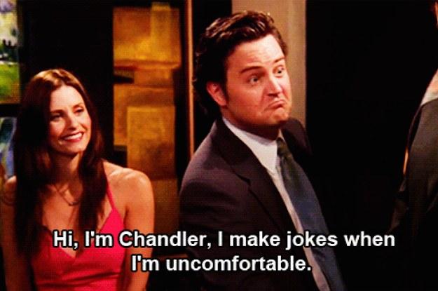 hi i am chandler and i make jokes