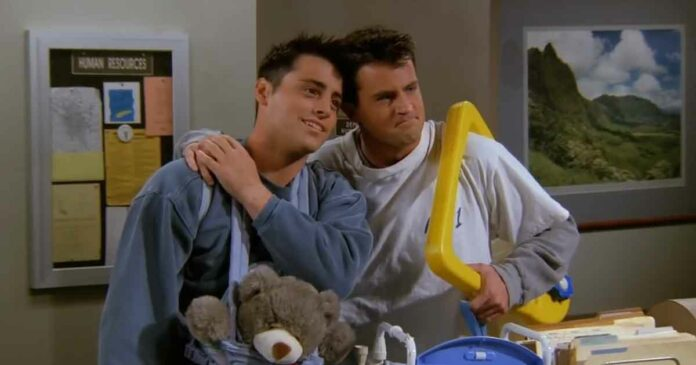 chandler and joey's bromance is better than romance