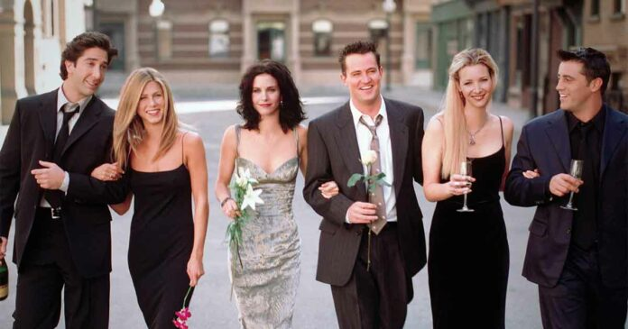 real life dates of friends cast we did not know