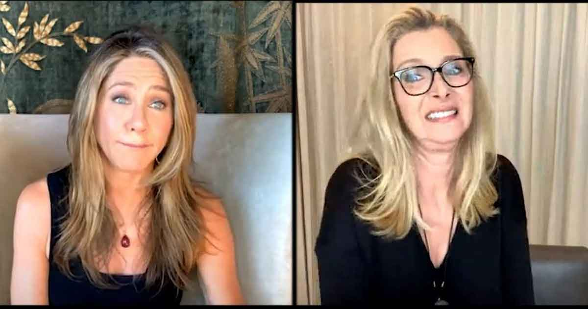 jennifer aniston reunites with lisa kudrow for an interview with varoety