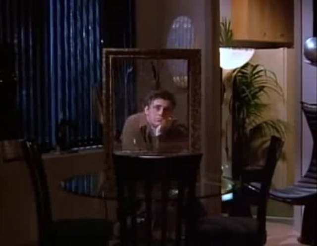 joey in his new apartment when he was sad