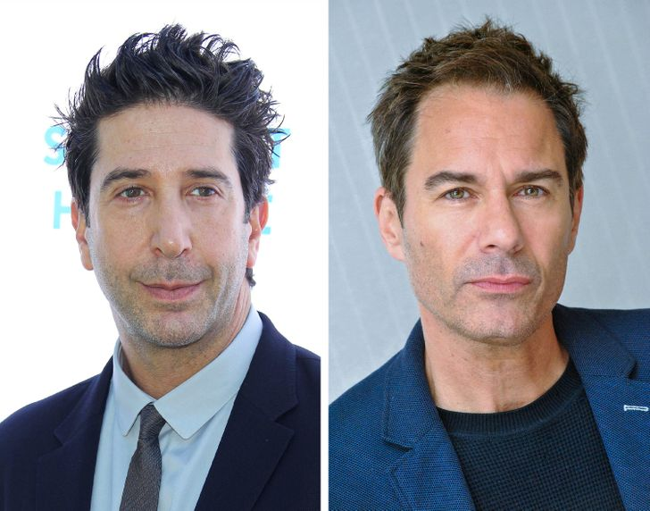 Eric McCormack playing the part of Ross Geller in friends would have been different