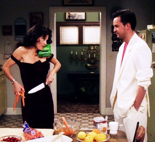 the episode where chandler lost his toe