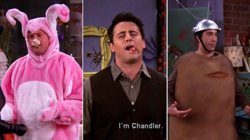 xputnik chandler and bunny in halloween party