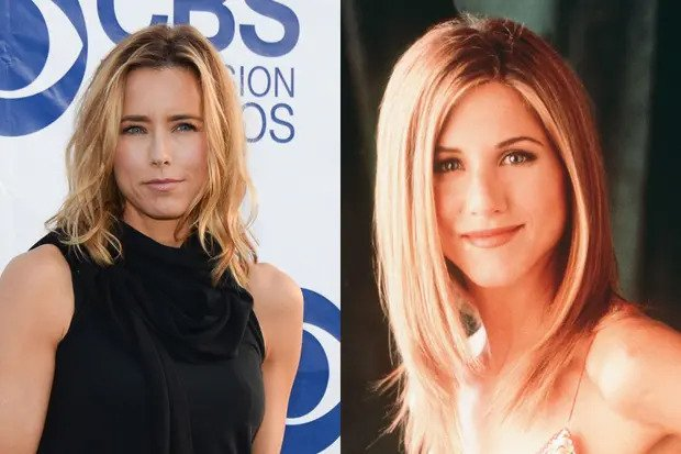 Tea Leoni could have played the part of Rachel Green in friends