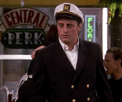 captain joey tribbiani
