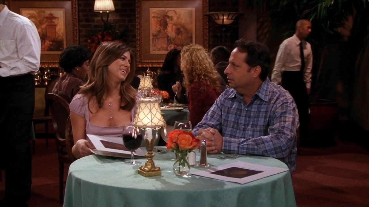 rachel on a blind date with a guy who is not in senses