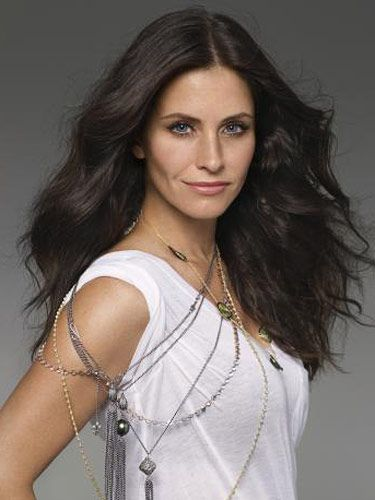 young and beautiful courteney cox from friends