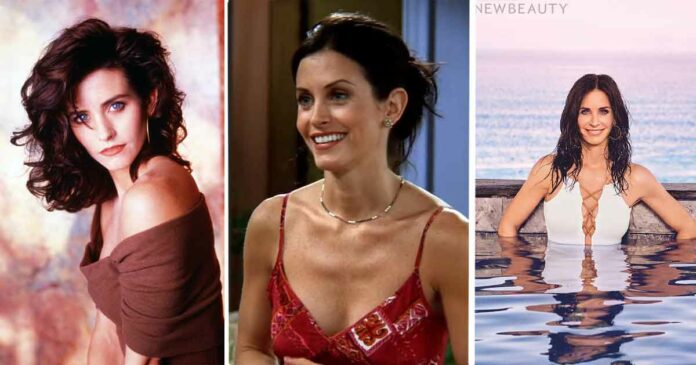 courteney cox before she was famous as monica geller