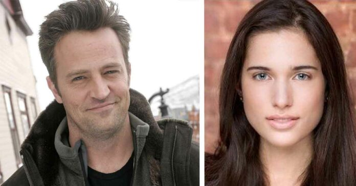matthew perry and molly hurwitz are engaged and together