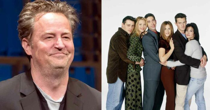friends cast reacting to matthew perry's wedding and engagement