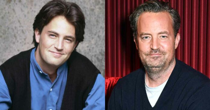 matthew perry young and old