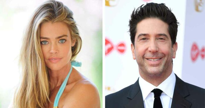 david schwimmer and denise Richards as cousins from friends