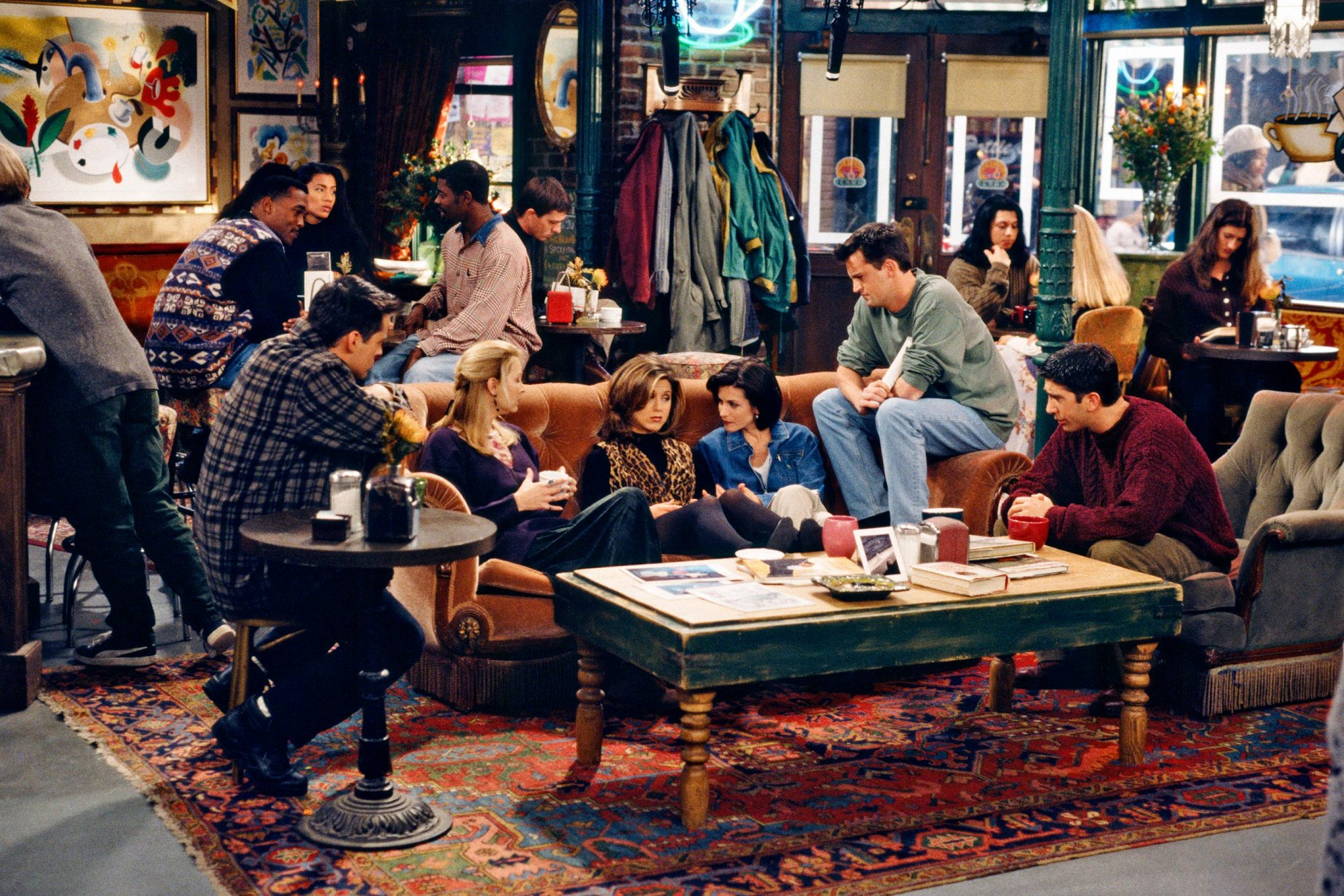 FRIENDS on Central Perk
