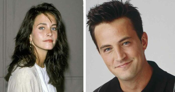 matthew perry and courteney cox together