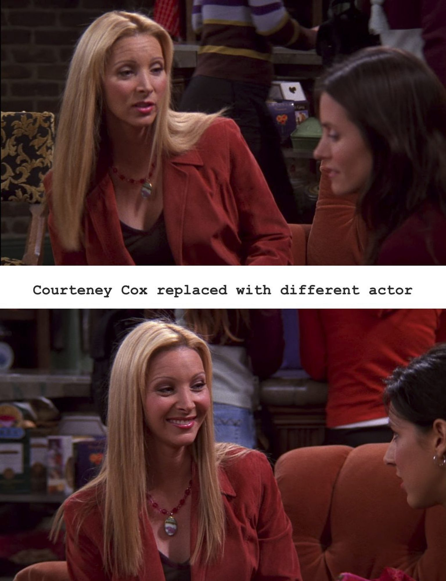 the one with rachel's date