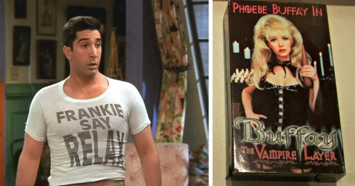 all the pop references from friends new fans did not understand