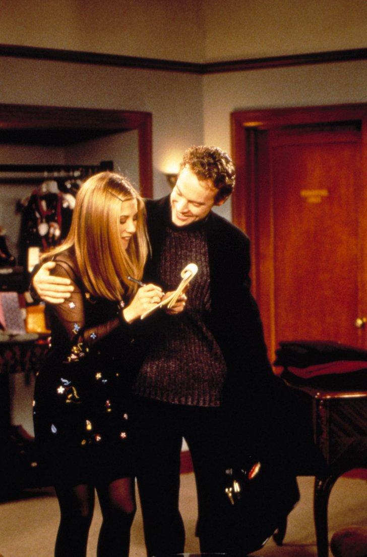 Rachel and Joshua in Bloomingdale's