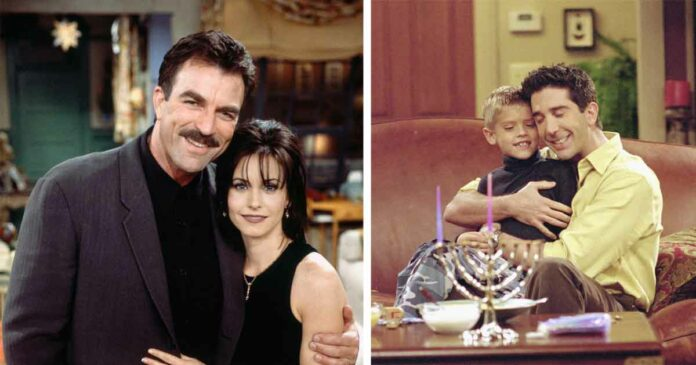 characters from friends like richard and ben deserved more screen time