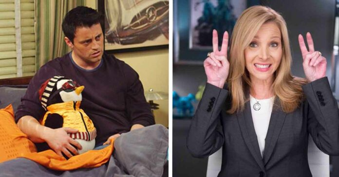 phoebe buffay and joey tribbiani and their jokes that paid off episodes