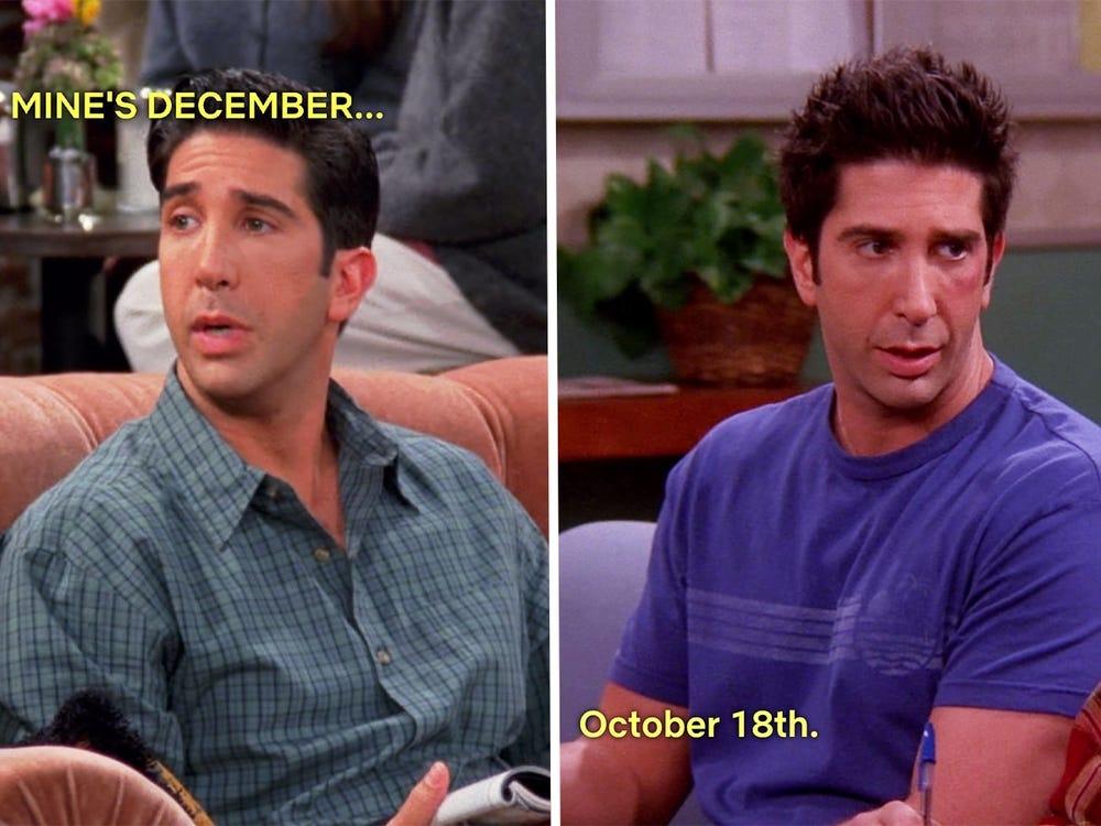 ross's changing birthday