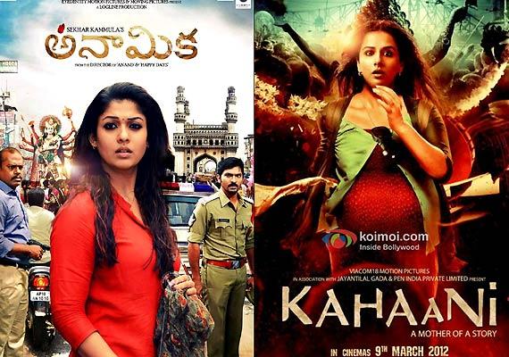 Kahaani inTamil and Telugu