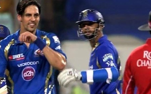 Mitchell-Johnson-and-Rahul-Dravid