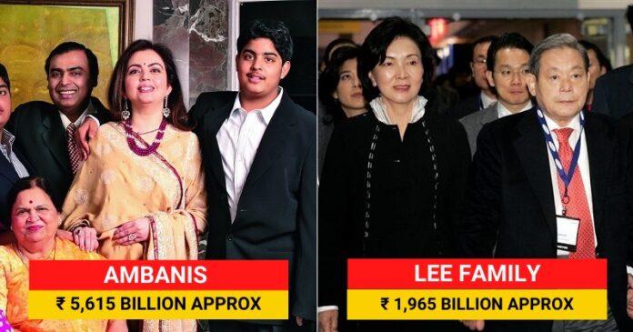 Richest Asians