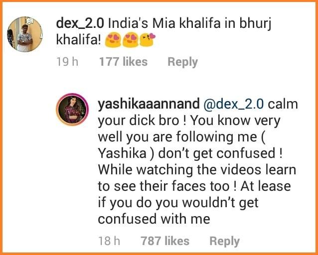 Yashika-Aannand-reply-trolls-for-Mia-Khalifa
