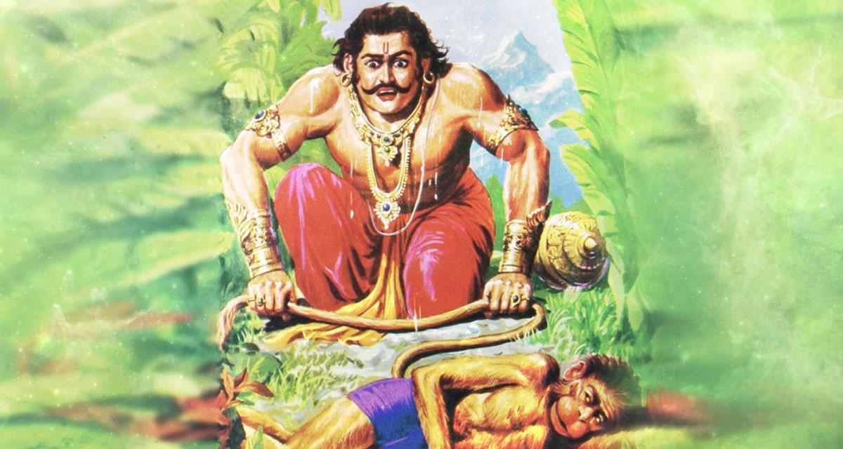 bheema and hanuman
