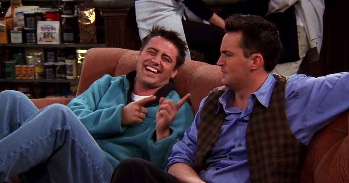 bloopers from friends which are more interesting than original scenes