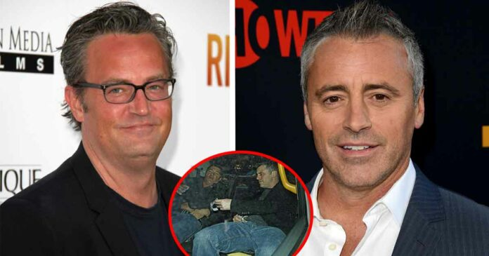 secrets of matthew perry and matt le blanc from friends