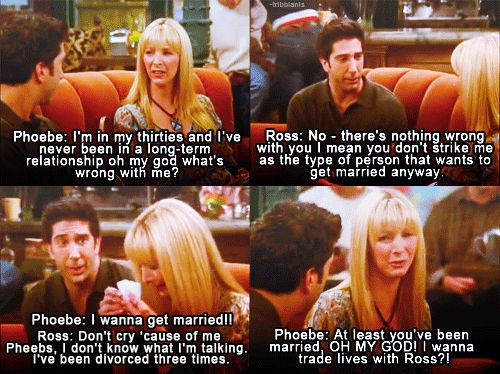 phoebe and ross