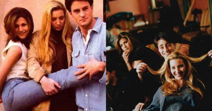 unseen pics from the friends cast