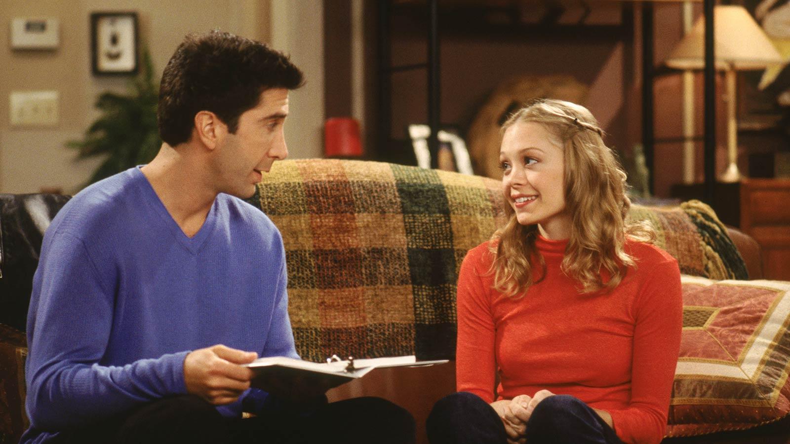 ross geller dating his student elizabeth stevens
