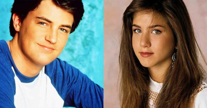matthew perry and Jennifer aniston before friends was famous
